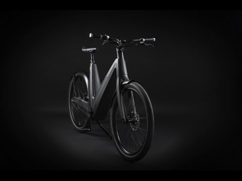 Leaos Solar Electric Bike fully integrated solar panels