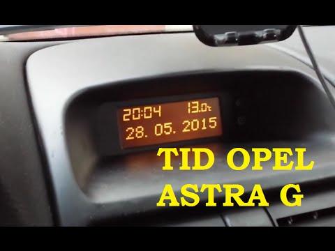 TID Wymiana żarówek Wyświetlacza R5 2W 12V X2 Opel Astra G II Vauxhall