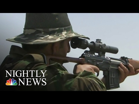 Airstrikes Drive ISIS From Mosul Dam | NBC News