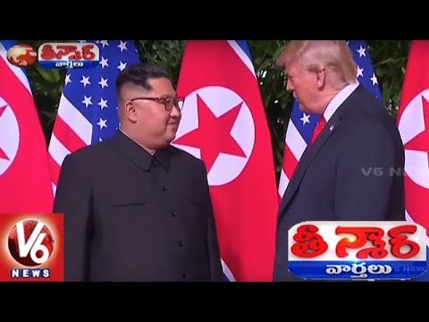 Donald Trump-Kim Jong Un Signs On Historic Agreement | Singapore Summit | Teenmaar News