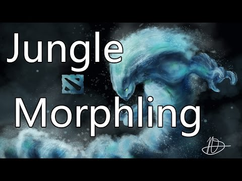 DoTa 2 How To Jungle Morphling