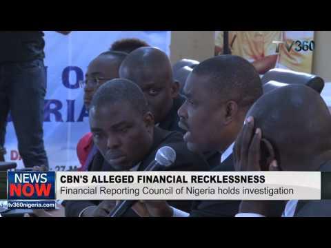 The full FRC probe of CBN under Sanusi