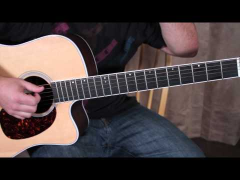 Finger Picking The Guitar - Easy Beginner Acoustic Guitar Lessons - Fingerstyle Beginner