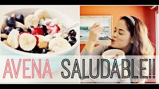 AVENA SALUDABLE PARA PERDER PESO!! || EVESTHER