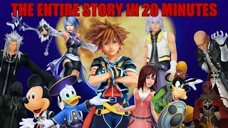 The Entire Story of Kingdom Hearts in Under 20 Minutes