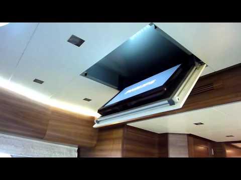 TV Ceiling / Plafond liften Innotech Waalwijk ( TV lift plafond )