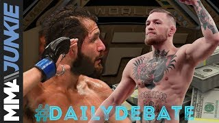 Daily Debate: Would you rather see Jorge Masvidal fight for the title or Conor McGregor next?