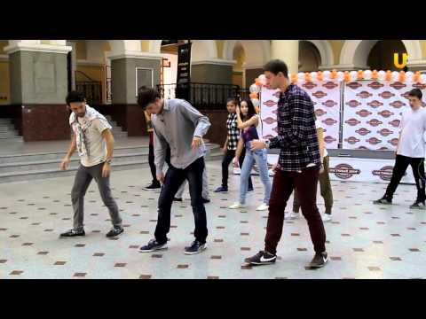 Танцуй-уроки танцев на UTV!Урок по House Dance!