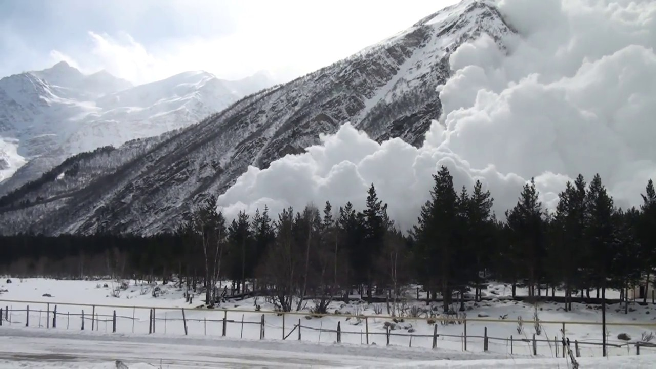 Russians Making Avalanches For Fun