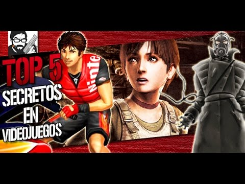 Top 5: SECRETOS OCULTOS en Videojuegos