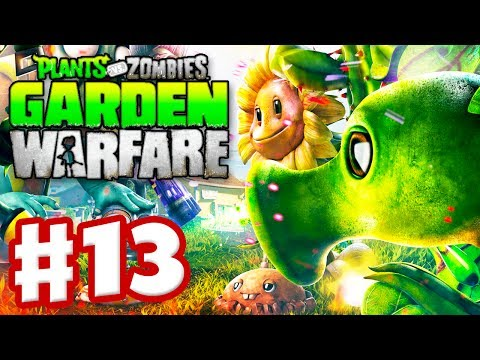 Plants vs. Zombies: Garden Warfare - Gameplay Walkthrough Part 13 - Team Vanquish (Xbox One)