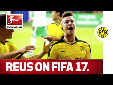Marco Reus: FIFA17 Cover Star - With the Help of Team-Mate Kagawa.