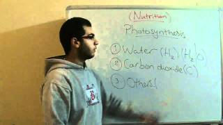 Biology - Chapter 1 - Nutrition - part 8 (Photosynthesis) - Abdallah Reda el Sayed
