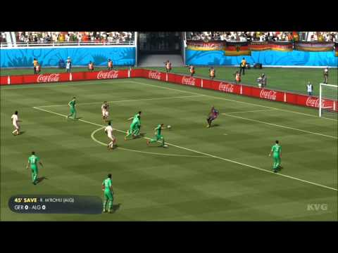 2014 FIFA World Cup Brazil - Germany vs Algeria Gameplay [HD]