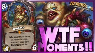 Hearthstone - Frozen Throne WTF Moments 10 - Funny and lucky Rng Moments