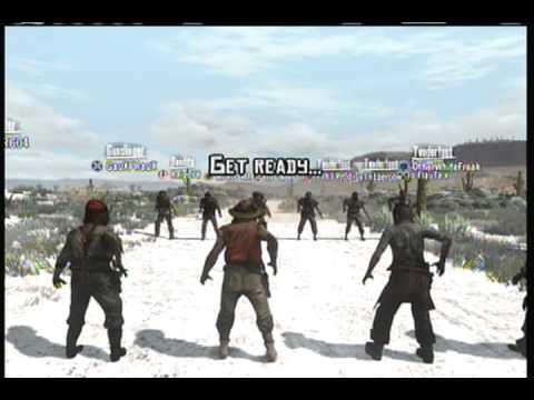Red Dead Redemption Online Gang match