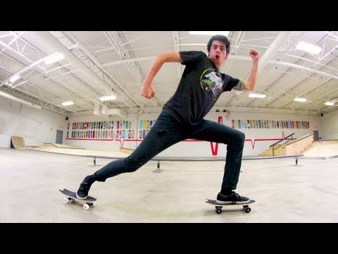 Can You Skateboard Roller-Skate!? / Warehouse Wednesday!