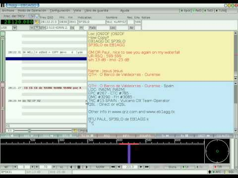 Amateur Radio with GNU/Linux - FLdigi running on Debian GNU/Linux - QSO nr 1200 in PSK