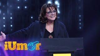 """Carmen Tănase, roast acid la iUmor:  """"Delia, ești în primele trei cele mai mari cântărețe pop.."""""""