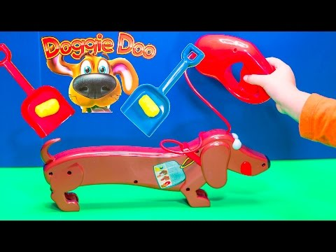 DOGGY DOO Game the Dog Doo Surprise Poop Game a Surprise Game Video Toys Unboxing