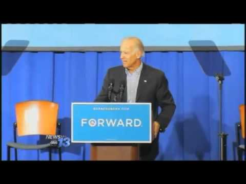 Vice President Joe Biden Campaigns At UNC Asheville