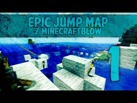 Minecraft 1.4.4: minecraftBlow to minecraftTroll - Epic Jump Map 2 w/ minecraftb