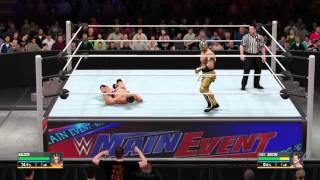 WWE 2K16 (PS4) Gameplay Kalisto Vs Chris Jericho