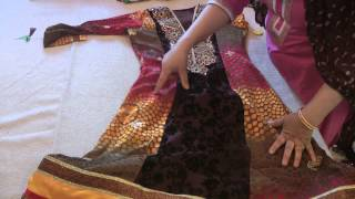 Transformation: Mehndi Suit