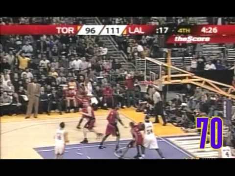 Kobe Bryant - 81 poen