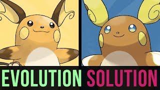 An Evolution Solution: Raichu or Alolan Raichu?