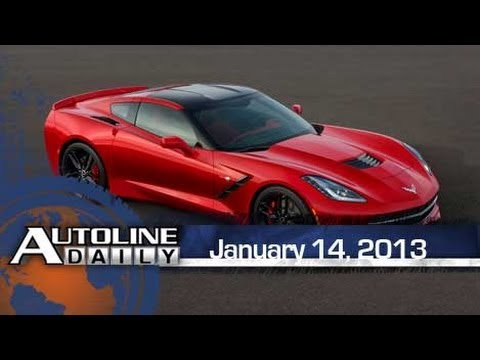 2014 Chevy Corvette Debuts in Detroit - Autoline Daily 1048