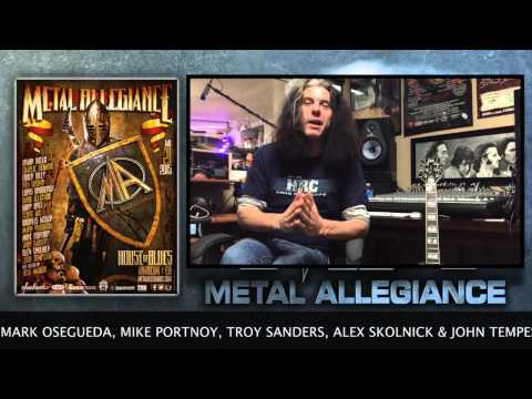 Alex Skolnick Of Testament Talks About The Metal Allegiance Show At House Of Blues January 21, 2015