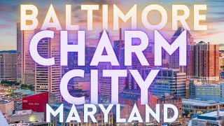 Visit Baltimore Maryland Travel Tour 4K