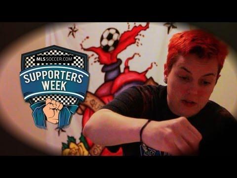 Supporters Week - The Artist (Prairie Rose Clayton, New England Revolution)