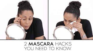 2 Mascara Hacks You Need To Know! - Makeup Tricks - Glamrs