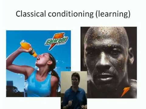 the use of classical conditioning in commercials According to goldstein, classical conditioning is the pairing of a  turner, 2004)  across the five conditioning groups used in the study, four of.