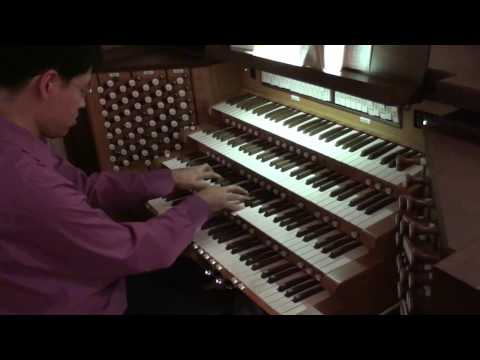 "HD Handel  ""HALLELUJAH"" - Messiah No. 44 - John Hong - Organ Solo - 5.1 Dolby - 할렐루야"