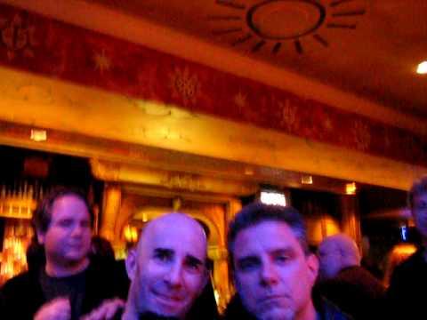 Ron McGovney and Scott Ian by James Hetfield