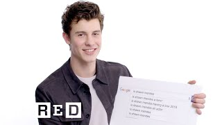 Shawn Mendes Answers the Web