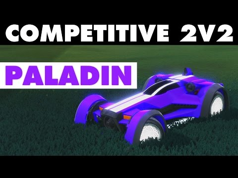 Rocket League | Competitive 2v2 With Paladin (Ranked Gameplay)