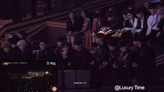 Idols Reaction To Bts Airplane Pt 2 Amama 2018 In Hong Kong