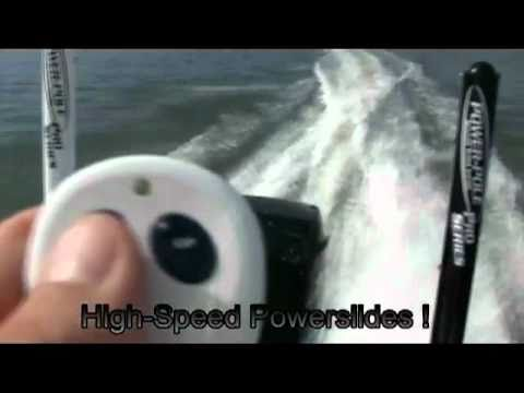 Power Pole Shallow Water Anchor Test Video  (Flats Skiff)