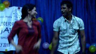 Anna adarsh college freshes...DD and geethan
