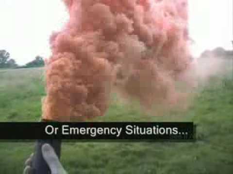 how to make a smoke gernade