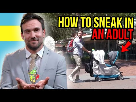 How to Sneak Into Theme Parks (The Hackiest Place On Earth)