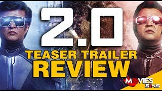 2.0 - Teaser Trailer Breakdown & Review [Hindi] | Rajinikanth | Akshay Kumar
