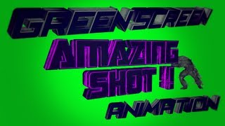 Push text , jug wire and ak47 gold animation # Green Screen