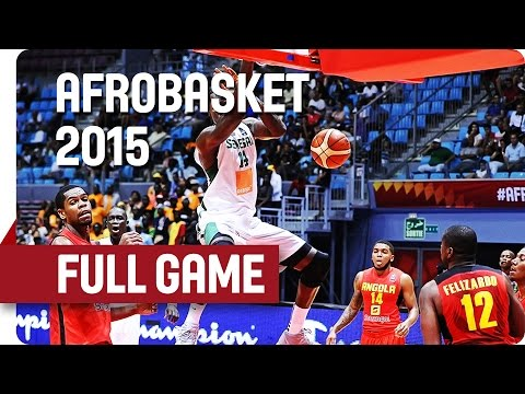 Senegal v Angola - Group B - Full Game - AfroBasket 2015