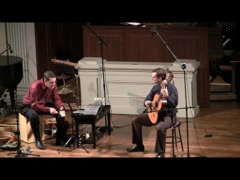 brasileirinho (pernambuco) guitar and percussion