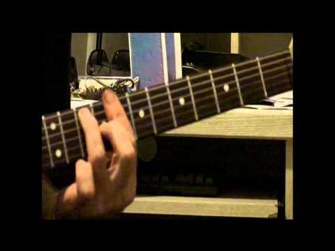 CAGED Chord And Blues Guitar Licks